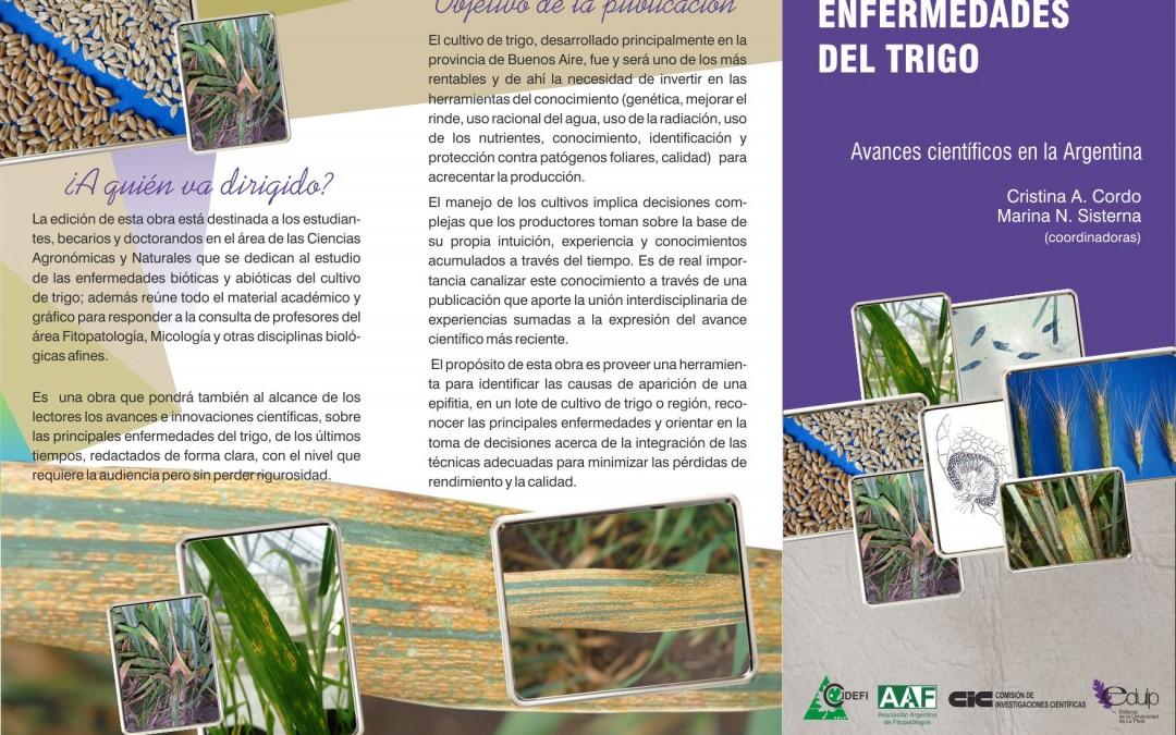 Libro sobre ENFERMEDADES DEL TRIGO. Avances científicos en la Argentina-2014
