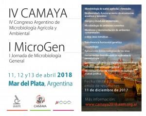 Congreso Microbiologia Ambiental y Agrícola y Microbiología general