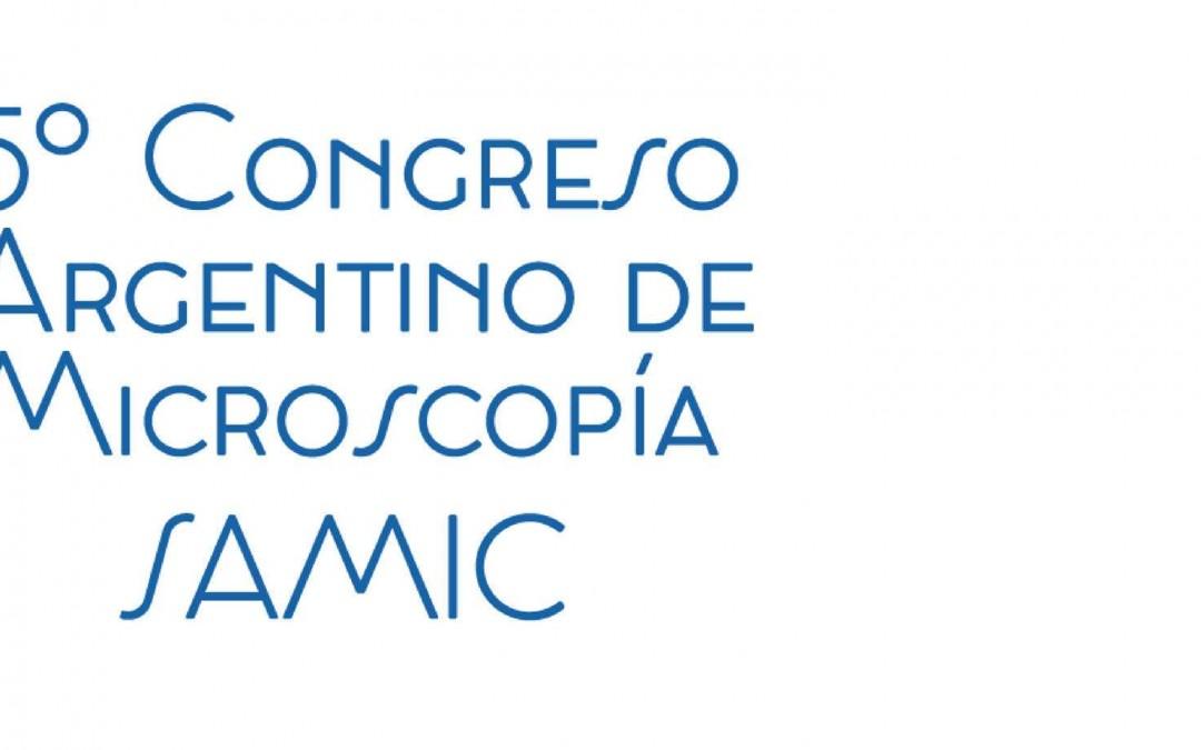 5º Congreso Argentino de Microscopía SAMIC-2018