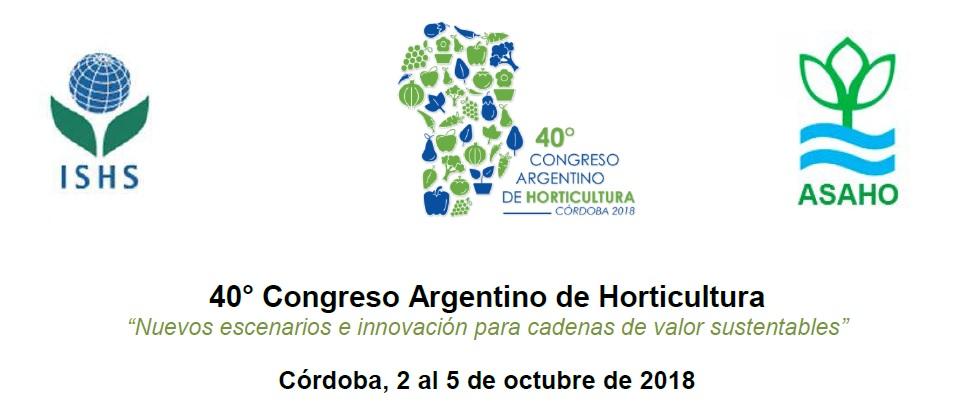 40º Congreso Argentino de Horticultura-2017