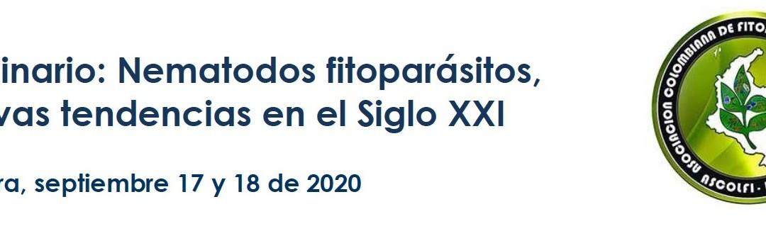 Seminario: Nematodos fitoparásitos, nuevas tendencias en el Siglo XXI-2020