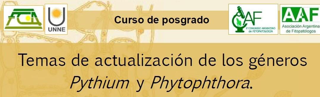 Curso de posgrado 2021. Temas de actualización de los géneros Pythium y Phytophthora
